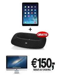 image555 [Top] MacTrade BlackFriday: 150€ auf Mac´s + gratis JBL Soundsystem (Wert 138,89€) beim Kauf eines iPads