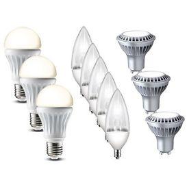 LG LED Leuchtmittel versch. Modelle: E27 7,5W, E14 2W, GU10 5,5W, Warmweiss