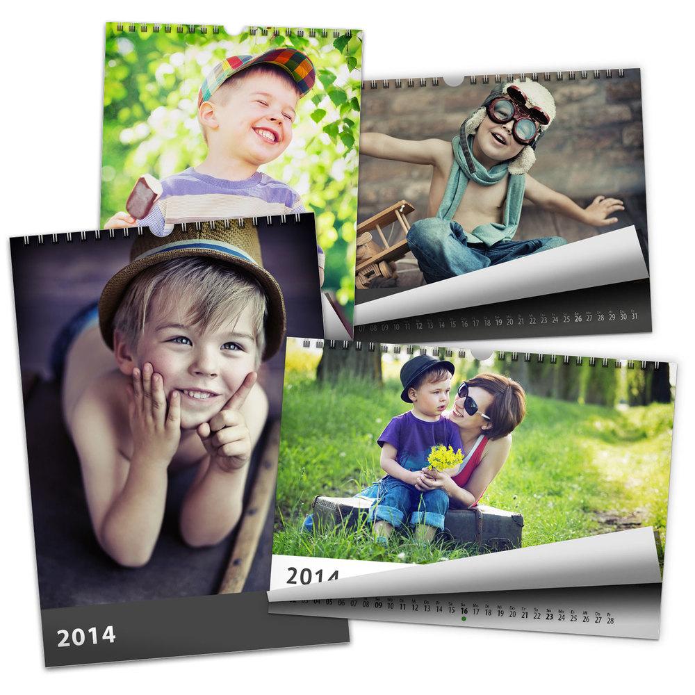 t60036226736df5eb6736b2ce791ce1a2 5 Kalender in A4 oder 3 Kalender in A3 (mit eigenen Fotos) für 29,95€