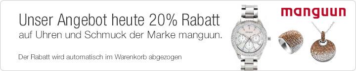 131028 d adventskalender manguun Galeria: heute 20% Rabatt auf Uhren und Schmuck der Marke manguun + gratis Schokolade + 10% Extra Newsletterabatt