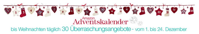 image thumb32 Die Amazon Adventskalender Angebote am 21.12.2013