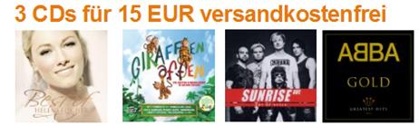 image114 Amazon.de: 3 CDs für 15 Euro inklusive Versand
