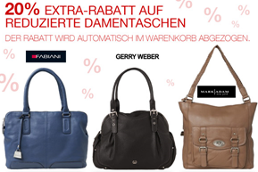 image thumb50 Galeria Kaufhof: 28% Rabatt auf bereits reduzierte Damentaschen
