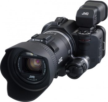 JVC GC-PX100 Speicherkarten-Camcorder / HD-Camcorder
