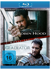 Bild zu Robin Hood / Gladiator (Director's Cut / Extended Edition, 2 Discs) [Blu-ray] für 7,97€