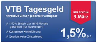 image244 VTB Direktbank – 1,5% aufs Tagesgeldkonto garantiert für 6 Monate