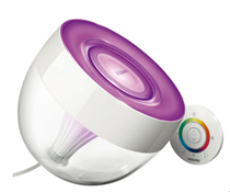 "image286 Philips LivingColors ""Iris"" clear + Adapter für 64€"