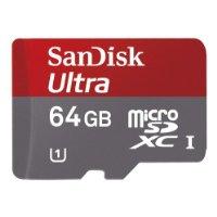 41v1sstl5jl. aa200  SanDisk Ultra Class 10 64GB microSDXC Speicherkarte für 28,90€