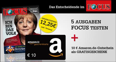 bild46 5 Ausgaben Focus oder Focus Money für rechnerisch 2,25€