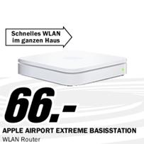 image227 APPLE AirPort Extreme Basisstation für 66€ zzgl. eventuell 4,99€ Versand