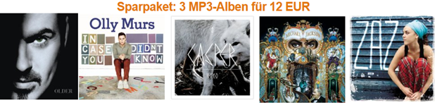 image58 Amazon: 3 Mp3 Alben für 12 Euro