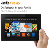 image thumb44 Kindle Fire HD Tablet (neuste Generation) für 79€ (8GB) oder 16GB Version für 109€