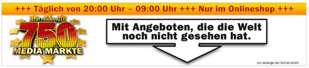 image thumb74 Die Media Markt Angebote am heutigen Tag (von 20Uhr bis 9Uhr)