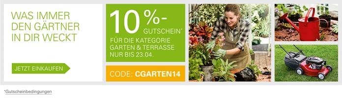 "3104 de retail spring gardencoupon mfbb 868x250 thumb eBay: 10% Rabatt auf ""Garten & Terrasse"" bei Zahlung per Paypal"