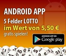 image142 Tipp24: Android App laden und 5 Lottofelder im Wert von 5,50€ gratis spielen