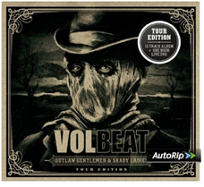 image23 Volbeat   Outlaw Gentlemen & Shady Ladies (Limited Tour Edition) [CD+DVD] ab 5,99€