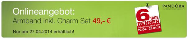 image440 Pandora Armband inklusive Charm ab 44,10€