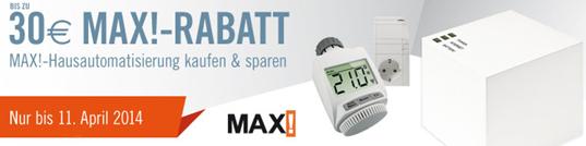 image65 Cyberport: bis zu 30 Euro Rabatt auf MAX! Hausautomatisierung