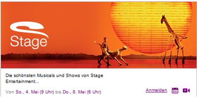 image35 [Update] Stage Entertainment Shows & Musicals Tickets zu sehr guten Preisen