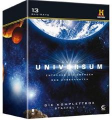 image459 Unser Universum   Die Komplettbox, Staffel 1 4 (History) [13 Blu rays] für 19,97€
