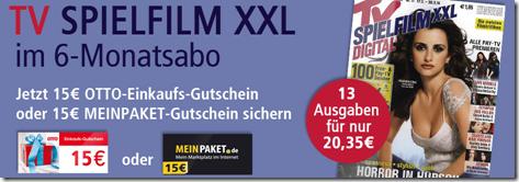image511 TV SPIELFILM XXL Digital im 6 Monatsabo für 35 Cent dank Prämie