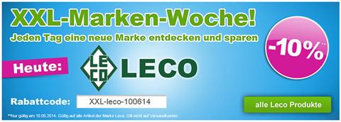 image108 GartenXXL: 10% Rabatt auf Leco Artikel