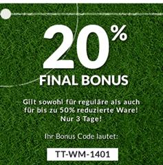 image407 [Top] Tom Tailor: bis zu 50% Rabatt im Summer Sale + weitere 20% Rabatt dank Gutscheincode