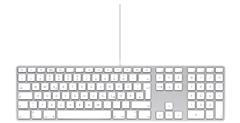 image109 Apple Keyboard mit Ziffernblock ab 37,99€ inklusive Versand