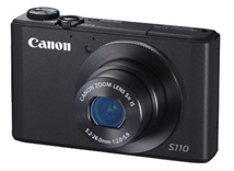 image162 Canon PowerShot S110 Digitale Kompaktkamera (12,1 Megapixel, 5 fach opt. Zoom, 7,6 cm (3 Zoll) Display, Full HD, HDMI) für 199€