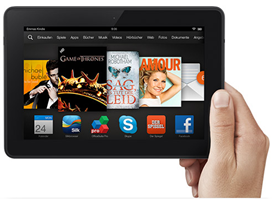 image185 [Knaller] 44% Rabatt auf Kindle Fire HDX bei Amazon