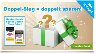 image246 GartenXXL: 10% oder 10€ Rabatt ab 40€ Bestellwert