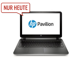 image261 HP 15 p025ng 39,6 cm (15,6 Zoll) Notebook (Intel Pentium N3530, 2,1GHz, 4GB RAM, 500GB HDD, Intel HD, DVD, DOS) für 307,89€