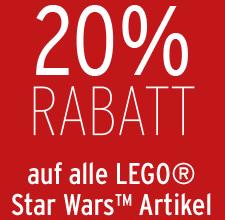 image342 Karstadt: nur heute 20% Rabatt auf alle Lego Star Wars Artikel