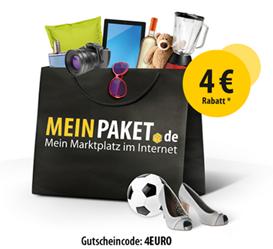 image366 Meinpaket.de: 4€ Gutschein ab 15€ einlösbar
