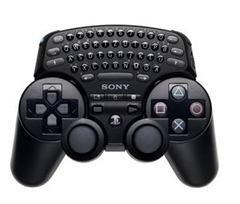image396 PlayStation 3 Wireless Tastatur für Wireless Controller für 15,99€