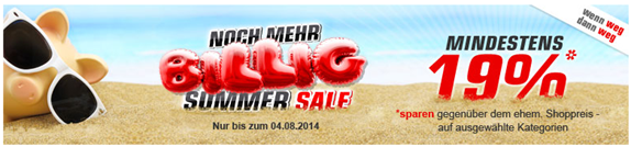 image423 Redcoon: Summer Sale – mindestens 19% vom ehem. Shoppreis