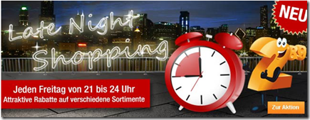 image51 Plus.de: Late Night Shopping (21–24Uhr)   15% auf alle Gartengeräte