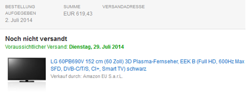 image thumb8 Preisfehler: LG 60PB690V 152 cm (60 Zoll) 3D Plasma Fernseher, EEK B (Full HD, 600Hz Max SFD, DVB C/T/S, CI+, Smart TV) für 619,43€