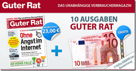 """image200 [Top] 12 x Zeitschrift """"Guter Rat"""" für 3€ anstatt 27,60€ (25 Cent pro Ausgabe)"""