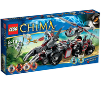 image253 Lego Legends of Chima   Worriz Großer Wolfstruck (70009) ab 35€