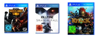 image330 [PS4] Killzone: Shadow Fall, Knack und inFamous Second Son für 54€