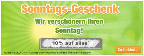 image361 Plus.de: nur heute 10% Rabatt auf (fast) alles