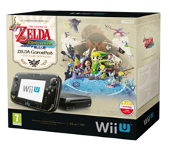 image39 Nintendo Wii U Konsole Premium Pack 32 GB Schwarz inkl. GamePad im Zelda Design + inkl. Zelda Wind Waker für 232,38€
