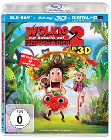 image401 Wolkig mit Aussicht auf Fleischbällchen 2 (3D + 2D Version (2 Discs)) [3D Blu ray] ab 13,97€