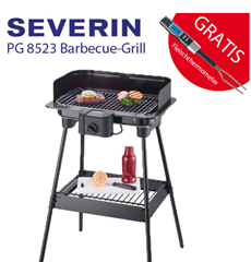image416 Severin PG 8523 Barbecue Elektrogrill + Fleischthermoeter für 29,99€