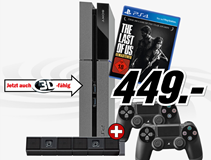 image436 PS4 + extra Controller + PS4 Kamera + The Last of Us Remastered für 449€