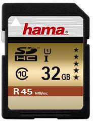 image446 Hama Class 10 SDHC 32GB Speicherkarte (UHS I, 45Mbps) für 14,99€