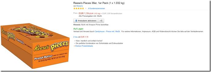 image453 [Ausverkauft] Reeses Pieces 36er, 1er Pack (1 x 1.032 kg) für 5,18€