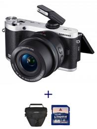image464 SAMSUNG NX300M Systemkamera + 16 50mm Objektiv + Tasche + Speicherkarte für 379€