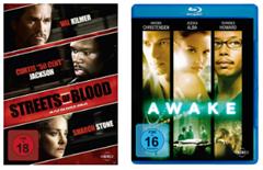 image thumb130 [Preisfehler] Awake (Blu ray) und Streets of Blood (DVD) für 0,00€ bei Filiallieferung